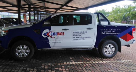gagumach vehicle branding